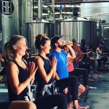 yoga-in-a-brewery