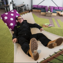 tim-alpe-relaxes-at-new-pod-hotel