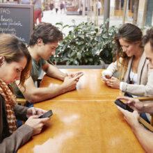 hostel social media